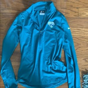 Teal Jags Quarter Zip